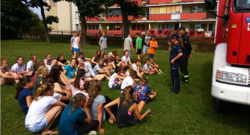 Wiadomości, Bezpieczne wakacje policjantami Mońkach - zdjęcie, fotografia