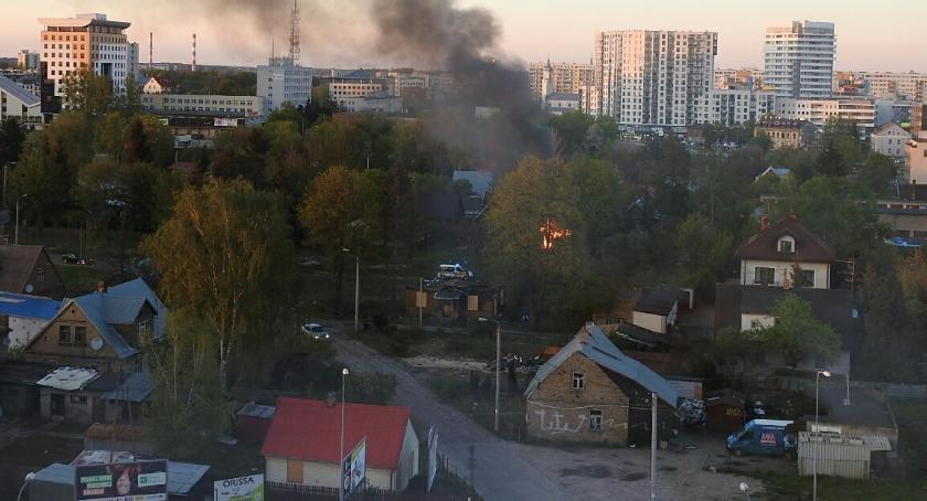 Wiadomości, spłonęły Winnych - zdjęcie, fotografia